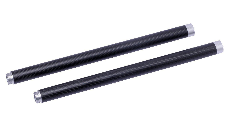 F11226-2 2X Feiyu Tech Carbon Fiber Extention Reach Pole Rod Tube for FY-G3 Ultra / FY-G4 Handheld Gimbal Steady Gopro + FS