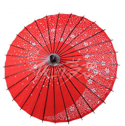 5 colors Cosplay umbrella japanese style paper umbrella endulge umbrella red female cosplay props accessories(China (Mainland))