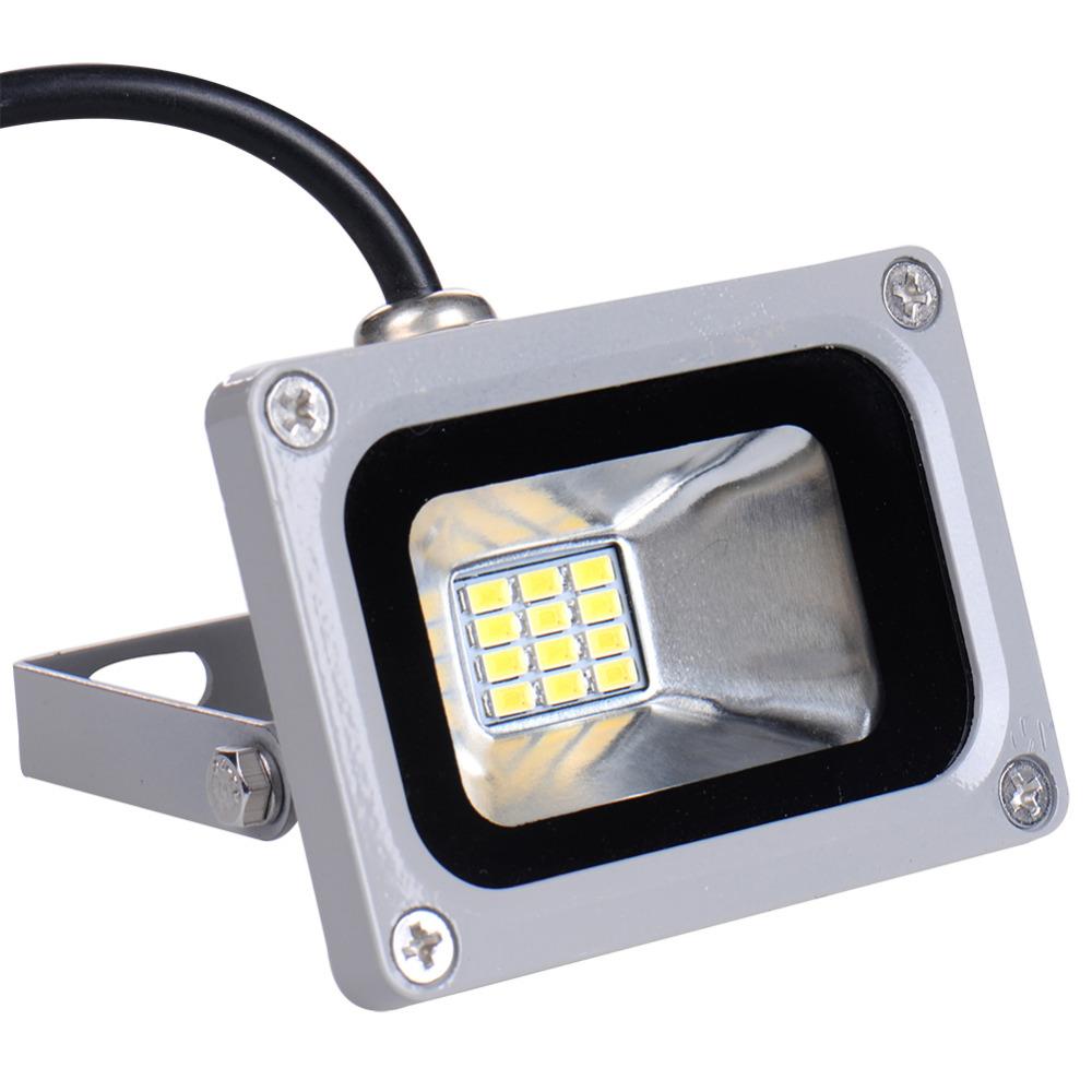 Led Outdoor Light Ip65: 12V 10W LED Flood Light Lights Waterproof IP65 Floodlight