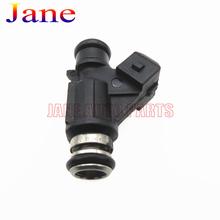 Buy 4pcs 25342385 93345842 Fuel injector nozzle Ford Mondeo Chery QQ GM Hafei wuling DFM CORSA Suzuki Chana FLEX for $40.84 in AliExpress store