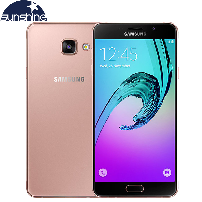 "2016 Original Samsung Galaxy A7 A7100 4G LTE Mobile phone Octa Core 1080P 5.5"" 13.0MP 3G RAM Fingerprint Dual SIM Smartphone(China (Mainland))"