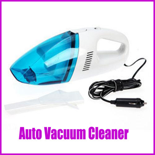 Mini Car Vacuum Cleaner Electric Washable 60W 12V Car Vehicle Rechargeable Wet Dry Handheld Free shipping