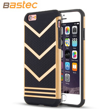 Bastec 4.7 inch Anti-slip Shockproof Armor Protective Cover Ultra Slim Fit Non-slip Grip Rubber Phone Case for iPhone 6 6s(China (Mainland))