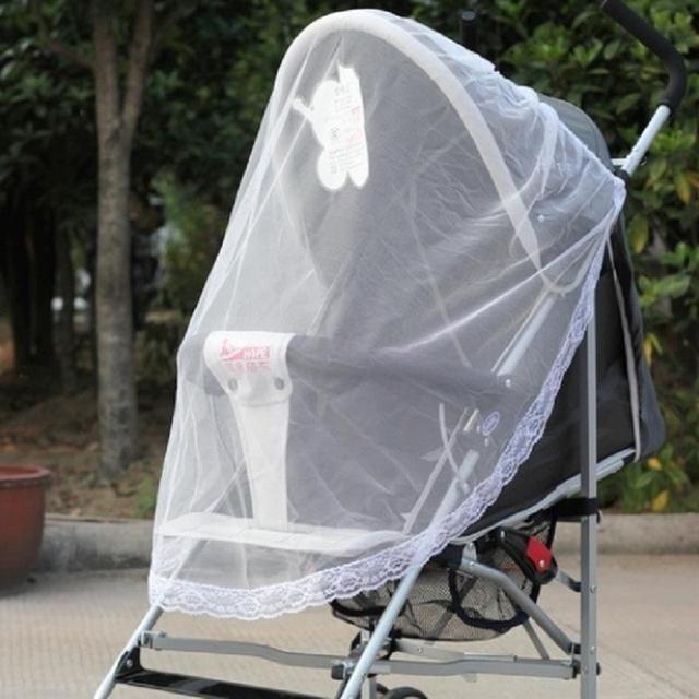 Детская ребенка анти-насекомых обложки москитная сетка для коляска Yoya велосипед ...