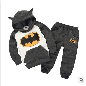Unisex Children hooded sweat suits kids clothes boys children sets girl boy baby's set baby clothing pants 2 piece - Boys *girls store