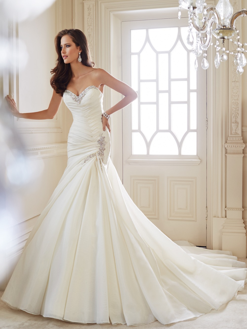 Wedding Dresses With Crystals : Cuquitoycuquitadaniyanna mermaid wedding dresses with