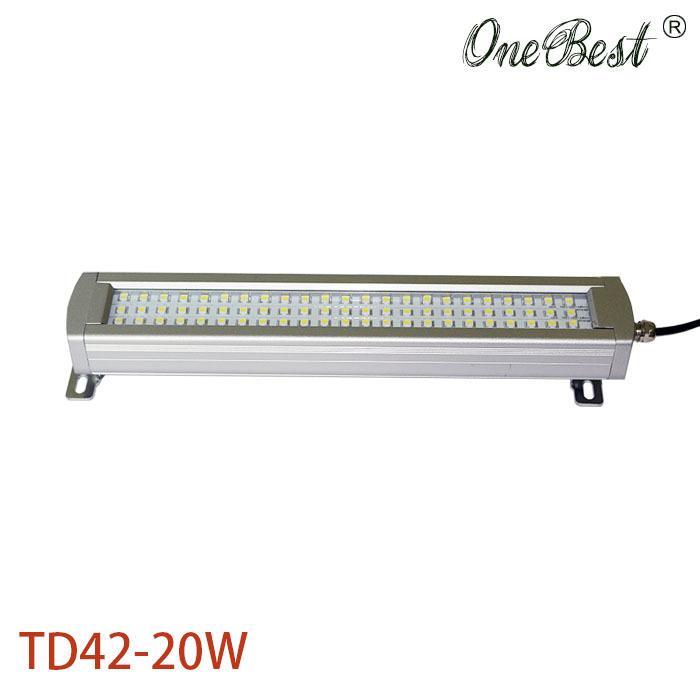 20W TD42 24V/36V/48V/110V/220V Led Metal Panel Light CNC machine tool Waterproof explosion-proof led Astigmatism led work light(China (Mainland))