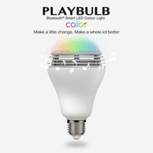 Playbulb Bluetooth Speaker Smart Dimmable LED Light Bulbs
