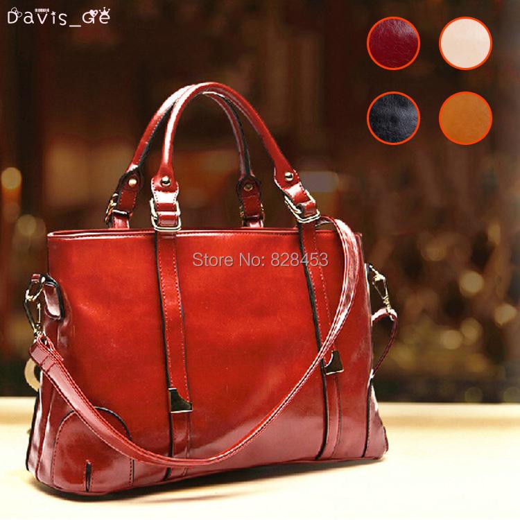 2015 free shipping New Womens Fashion Genuine Cow Leather Handbag BAG NV44 Best Quality Freeshipping party(China (Mainland))