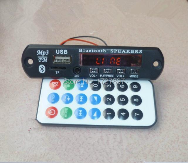 Upgrade Panel 3.5AUX Input Bluetooth MP3 Decode Board Bluetooth Module MP001(China (Mainland))