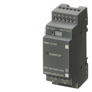 NEW 6ED1055-1CB00-0BA0 Simatic LOGO! DM8 24 EXPANSION MODULE 4 DI/4 DO PLC Programmable Logic Module Controller(China (Mainland))