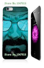 Mobile Phone Cases Retail 1pc breaking bad Protective White Hard Case For Iphone 6 plus Free Shipping