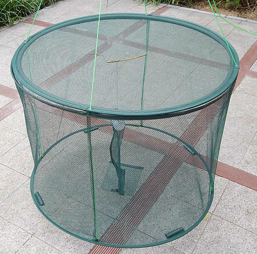 Shrimp aquarium trap fishing net folding fish trap fishing for Aquarium fish trap