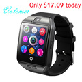 100 Original Q18 Smart Watch Waterproof Smartwatch Sport Watch Wristwatch Support NFC SIM Card Camera For