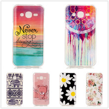 Cute Cool Design TPU Soft Gel Case Back Cover For Samsung GALAXY J2 J200 J200F Mobile Phone Silicone Cases