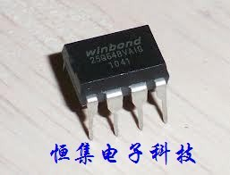 10PCS free shipping 100% new original W25Q64BVAIG new original authentic DIP8 WINBOND motherboard BIOS chip 8MB flash memory(China (Mainland))