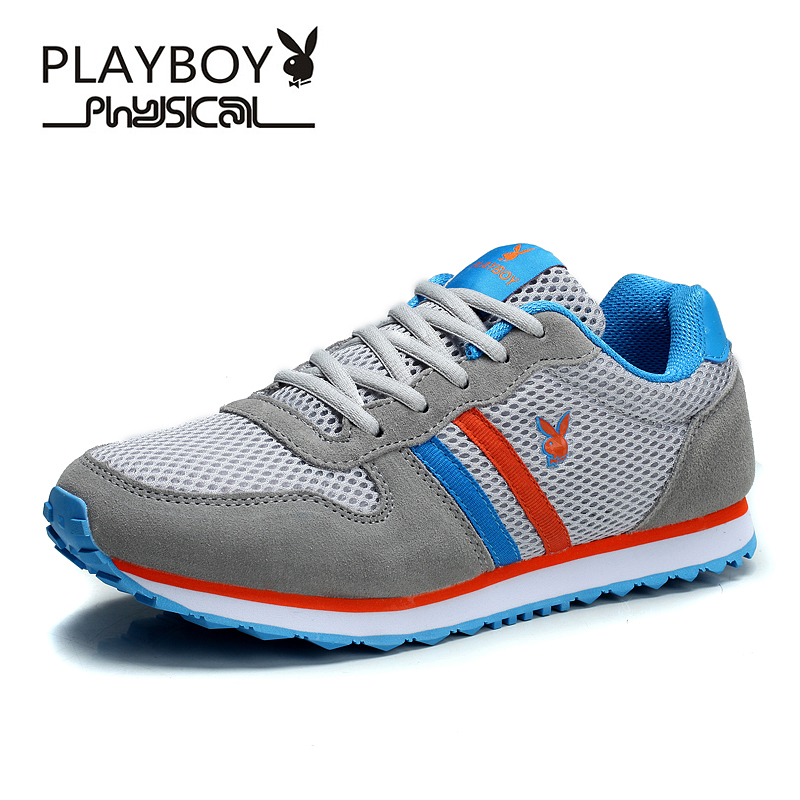 PLAYBOY Fashion Mens Shoes Breathable Mesh men Walking Super Light Casual Summer Lace-Up Men Water Beach  -  Feng shang co., LTD store