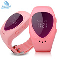 A6 Heart Oled Screen Smart GPS LBS Tracker Locater SOS Call Anti Lost Remote Monitor Watch