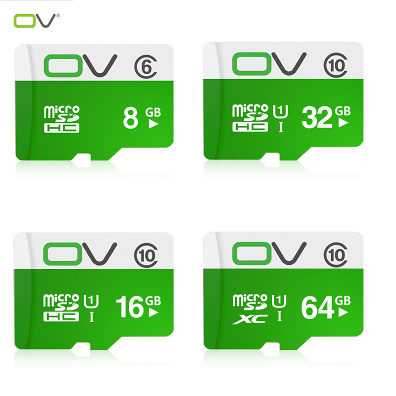 Hot sale OV Memory Cards Micro SD Card 2GB 4GB 8GB 16GB 32GB 64GB class 10 Microsd TF card UHS1 Pen drive Flash(China (Mainland))