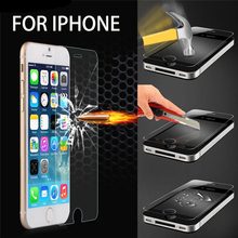 For iPhone 5 5s 5c Explosion-Proof Premium Tempered Glass 2.5D 9H LCD Clear Screen Protector for iPhone 6 6s 4.7 6s plus