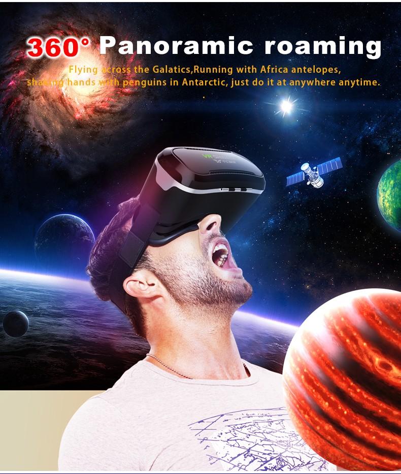 ถูก Shinecon 2016อัพเกรดVRชุดหูฟังความเป็นจริงเสมือน,มาร์ทโฟนภาพยนตร์เกม3Dแว่นตาวิดีโอที่มีบลูทูธการควบคุมระยะไกล