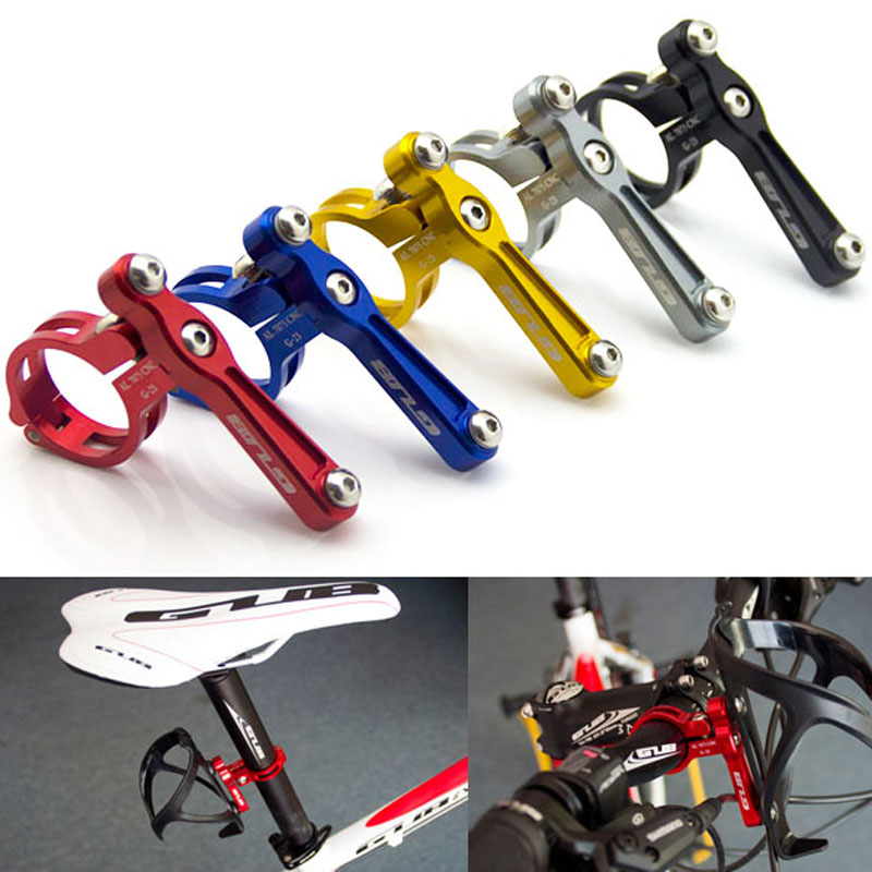 HIgh Quality GUB G-23 Anodised Alloy Bike Water Bottle Holder Seat Post Bar Rack Mount Free Shipping<br><br>Aliexpress