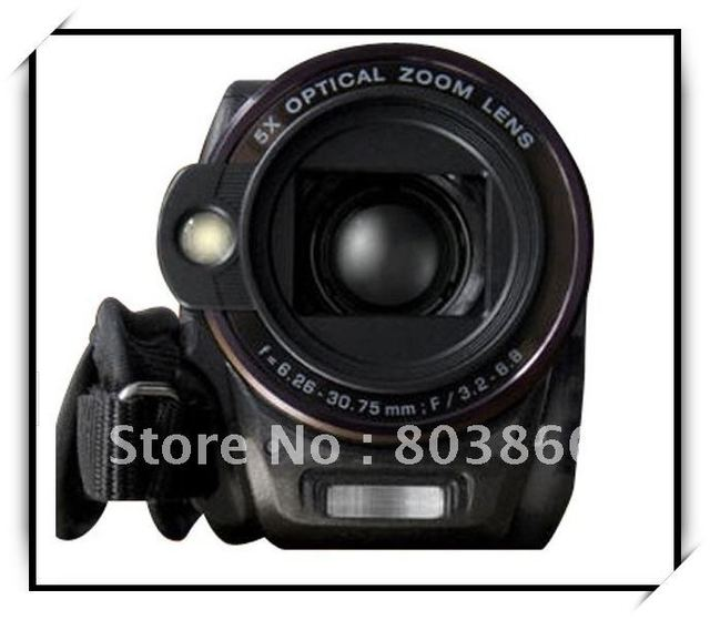 New arrival-Support 20X Zoom ( 5X Optical / 4X Digital ) Digital video camera HD-9Z - free shipping