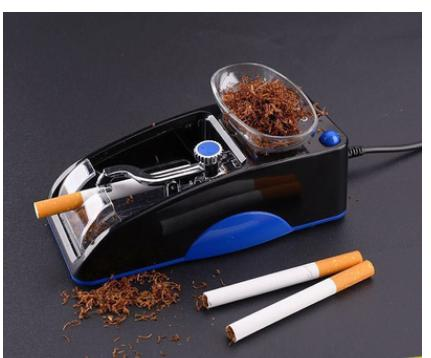2016 New arrival durable household automatic electric cigarette machine two color portable cigarette making machine(China (Mainland))