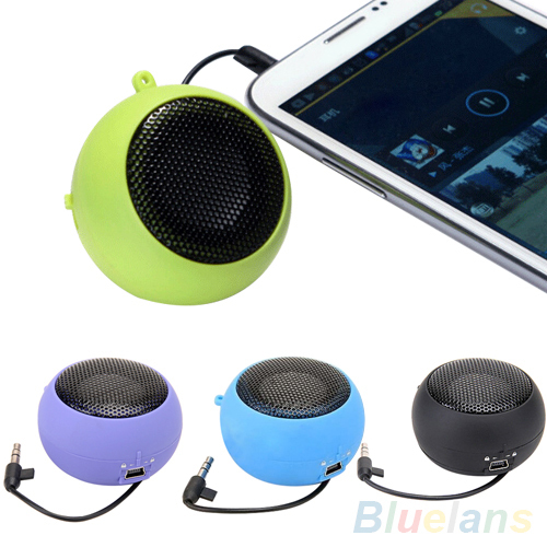 Mini Portable Hamburger Speaker Amplifier For iPod iPad Laptop iPhone Tablet PC 1U93 4925