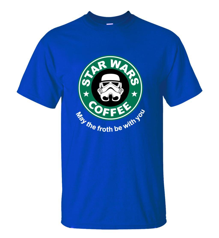 2016 New Arrival Cool star wars T Shirt funny COFFEE Printed T-shirt Men's Short Sleeve O-Neck Streetwear HipHop Summer Tops Tee  HTB1R0F1MXXXXXa2XXXXq6xXFXXXD
