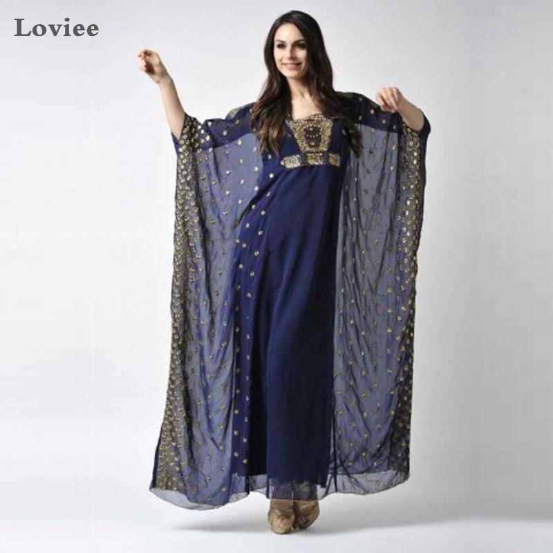 Popular Navy Blue Long Chiffon Dress-Buy Cheap Navy Blue Long ...