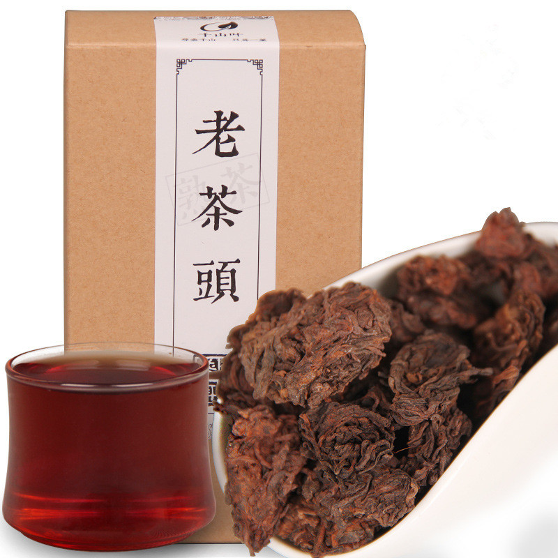150g 10 years old China puer tea ripe pu er tea box Chinese pu'er loose tea cooked nature gold bud fully fermented taste sweet(China (Mainland))