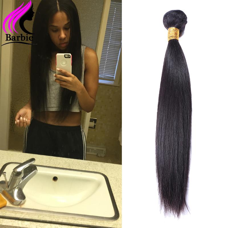 Virgin Indian hair Straight, 6A Indian virgin hair,  Unprocessed Indian hair bundles cheap human hair weave 1 Boundle<br><br>Aliexpress