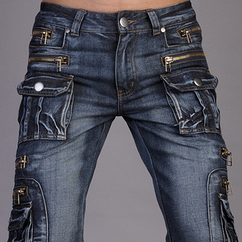 New Jeansian Brand Mens Designer Jeans Pants Trousers Denim Blue W30 32 34 36 38 Free Shipping ...