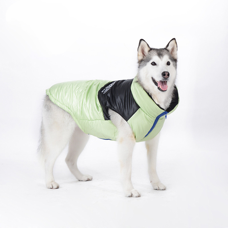 2016 Today's Deals New Fashion Elegant Feather Large Pet Dog's Winter Clothes Down Jacket Cold-Resistant Garment(China (Mainland))