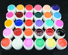 1 piece GDCOCO 8 ML Quality UV Gel Nail manicure for LED UV lamp Gel Solid color nail art gel nail art