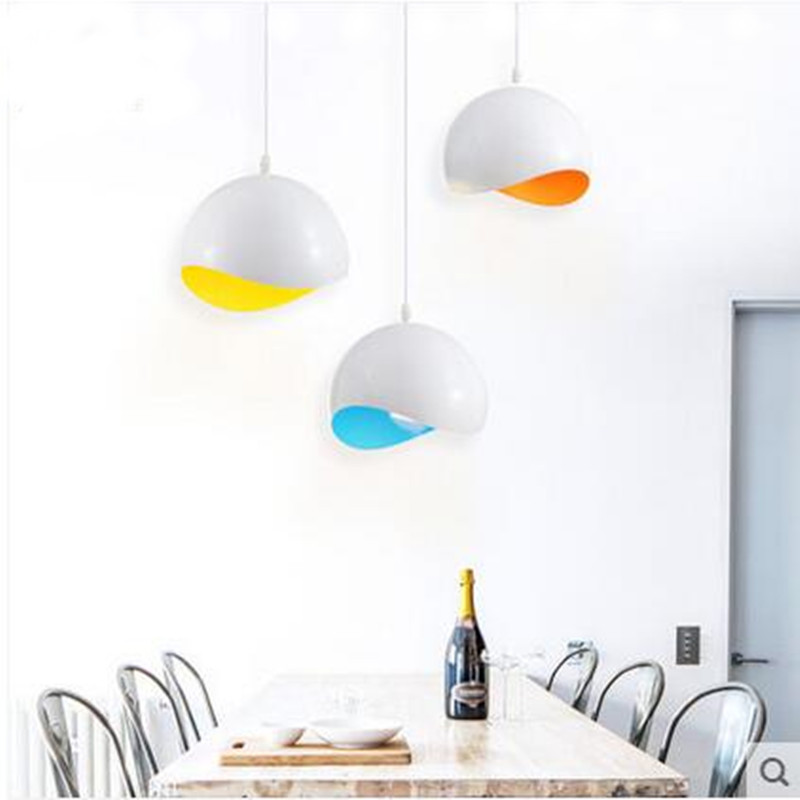 modern pendant lamp diameter 20cm LED ceiling aluminum indoor lighting The restaurant dining room bar shops light fixture(China (Mainland))