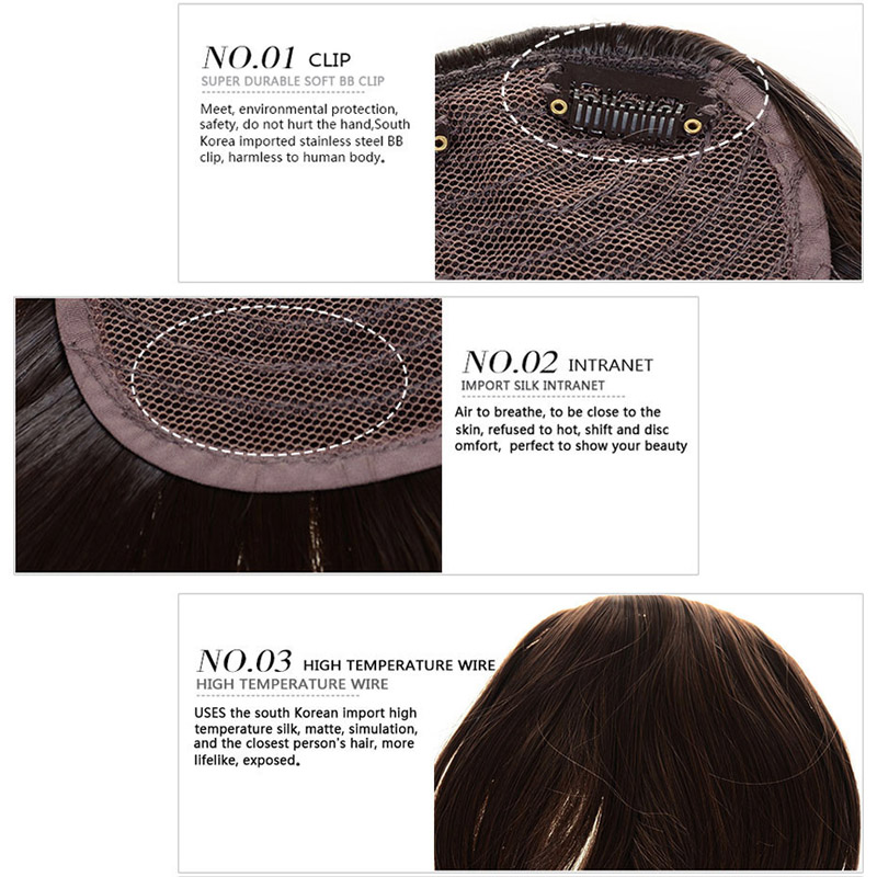 Women-s-Straight-Neat-Bangs-Fringe-Synthetic-Hair-Extensions-Clip-in-Hair-Piece-32-Colors-B3