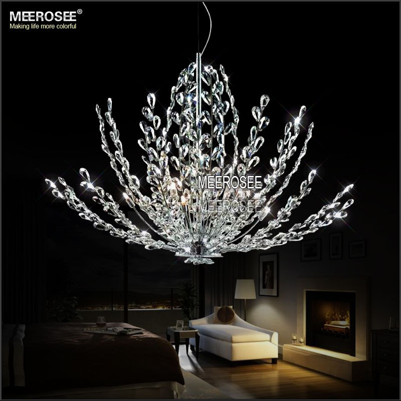 2015 ikea lamparas colgantes luminaire modern crystal pendant light fixture f - Luminaire suspension ikea ...