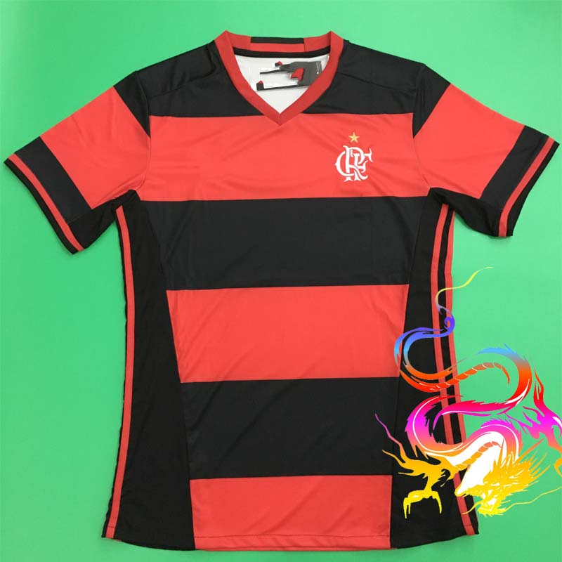 One day free shipping 2016 17 Flamengo home shirt football team Home Soccer Jersey Flamengo home shirt(China (Mainland))