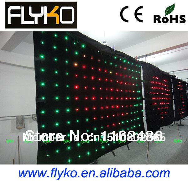 Free shipping manufactures china buy cheap video led curtain(China (Mainland))
