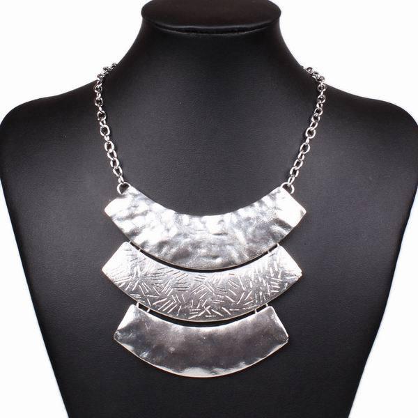 2014 New Fashion Women Alloying Pendant Link Chain Statement Necklace Women Club Trendy Jewlery Accessories Gift