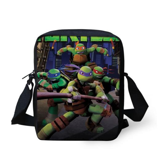 Черепашки-ниндзя-ниндзя черепаха мешок детей мультфильм школьные сумки мини школьный для детей мальчиков Mochilas студент Bookbag