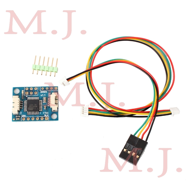 Crius I2C-GPS NAV Module I2C turn UART GPS adapter board navigation module board(China (Mainland))