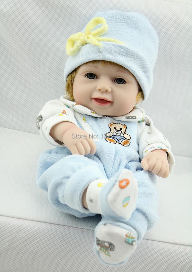 Fashion silicone reborn baby dolls for sale 28 cm silicone