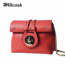 2016 Summer Style Genuine Leather Bag For Women Vintage Shoulder Crossbody Bags For Women Fashion Messenger Bags Clutch DB5188