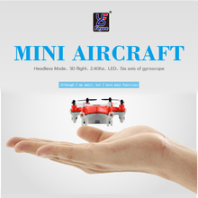 Fayee FY805 Smallest Headless Mode 2.4G 4CH 6Axis LED RC Quadcopter Helicopter Drones RTF Model 2