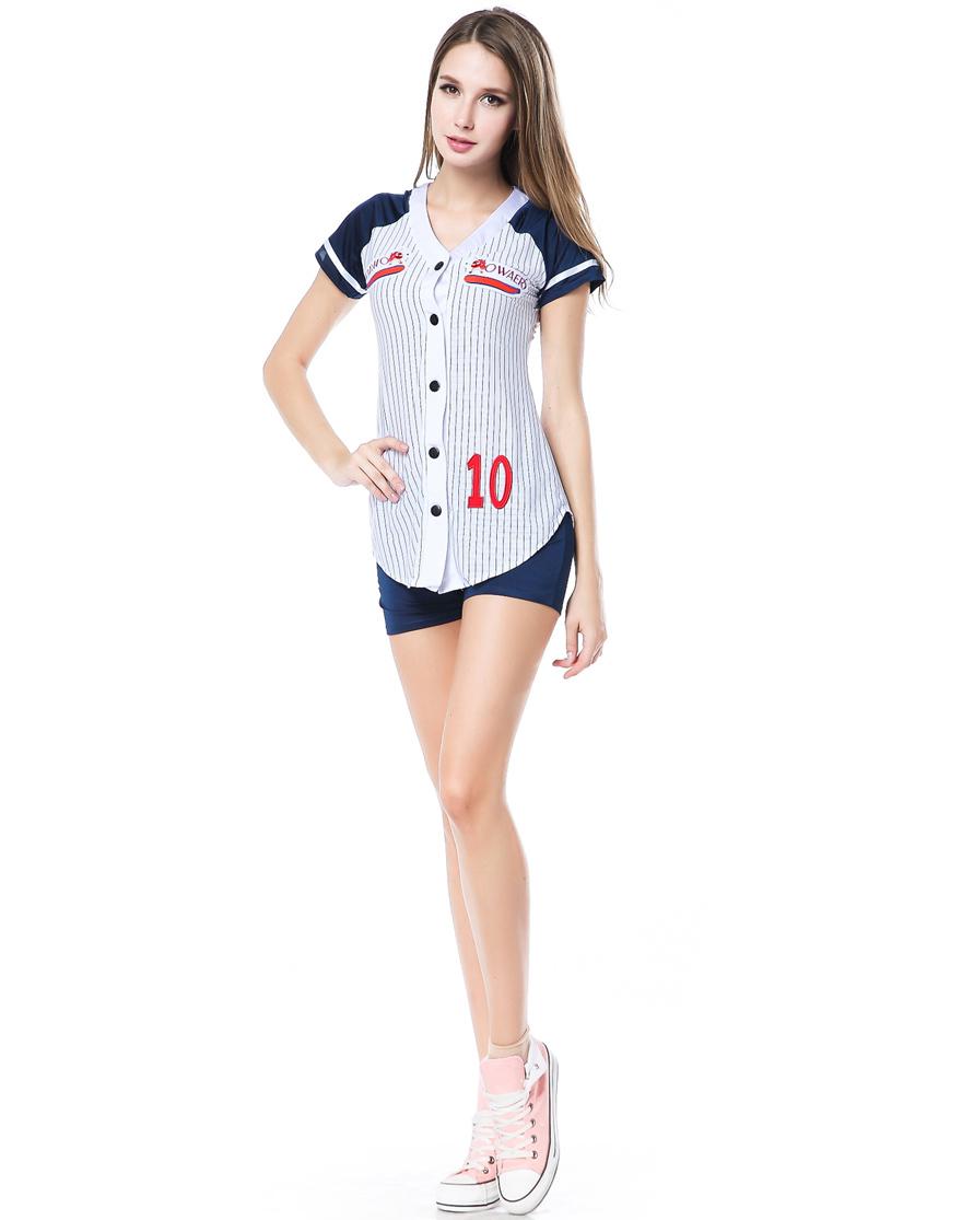 Wholesale Sexy Lingerie Cheerleader Costume Baseball Player Costume H39153(China (Mainland))