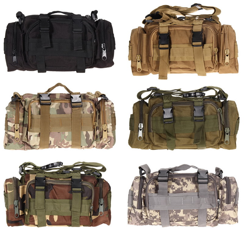 Free Shipping <font><b>Climbing</b></font> <font><b>Bags</b></font> Outdoor Military Tactical Waist Pack Molle Camping Hiking Pouch <font><b>Bag</b></font> H1E1