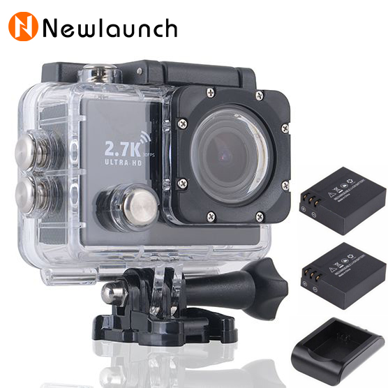 SJ6000+ WIFI Sport Action Camera 2.7K Ultra HD 1080P 60FPS 170 Degree Lens 2.0 inch LCD 30M Waterproof extreme mini cam recorder